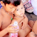 Feeding Outreach: Temporary Housing, Tondo Manila
