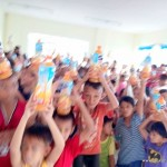 Feeding Outreach: Distribution of Fruit Juice Drinks to Different Locations