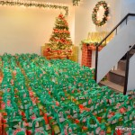 Christmas at JFM! Repacking Food Bags For Distribution
