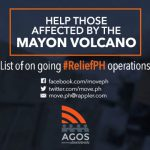 UPDATE: Mayon Relief Operation