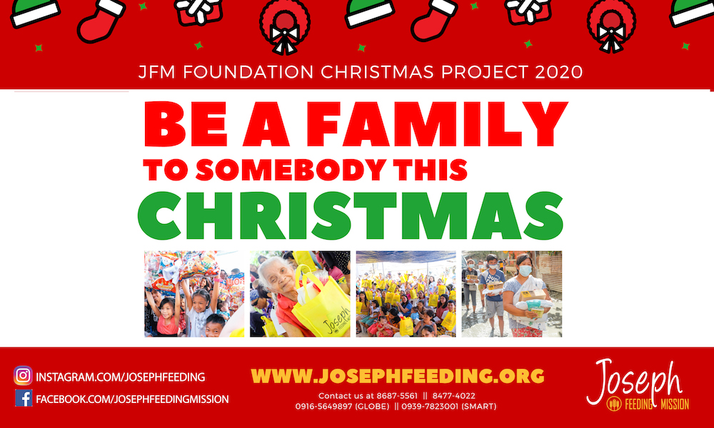 Be A Family Christmas Campaign 2020