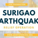 Relief Operation: Surigao Earthquake Relief Operation