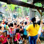 Feeding: F. Rivera Rd. Potrero, Malabon